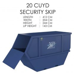 20 CUYD Security Skip