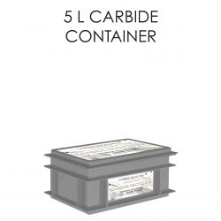 5 L Carbide Container